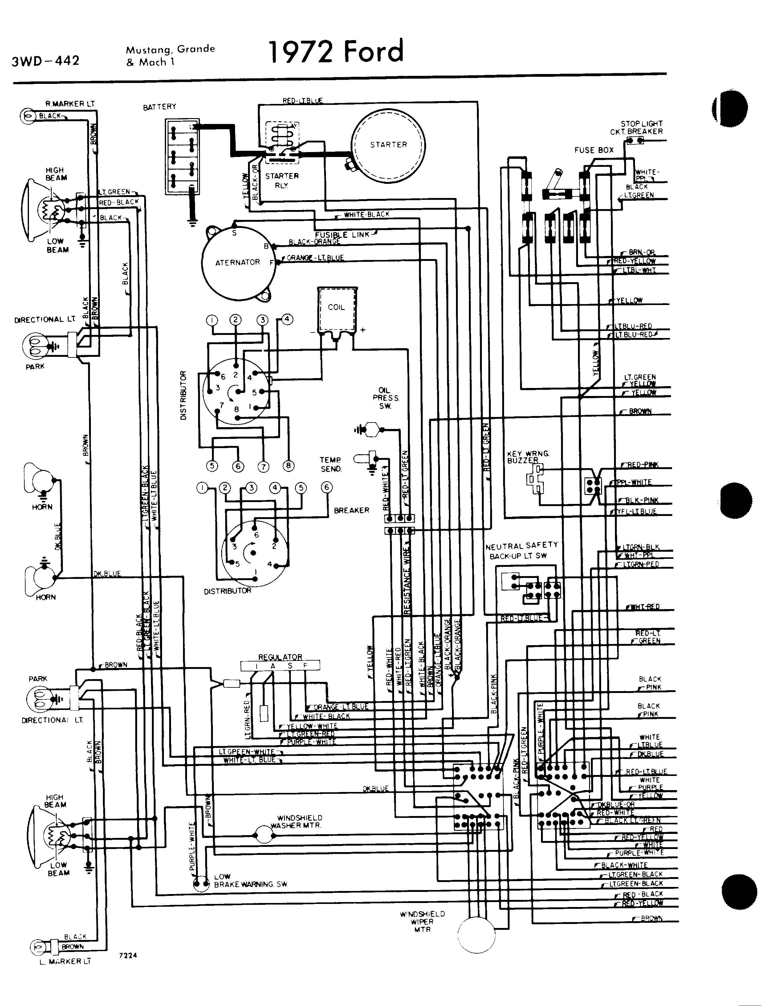 Phenomenal Harness Diagram Ford Mustang Ignition Switch Wiring Diagram 1973 Wiring Cloud Apomsimijknierdonabenoleattemohammedshrineorg