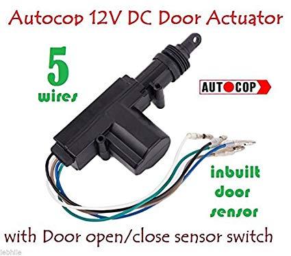 Peachy Auto Gear Autocop Universal Car Central Door Lock Actuator Gun With Wiring Cloud Ostrrenstrafr09Org