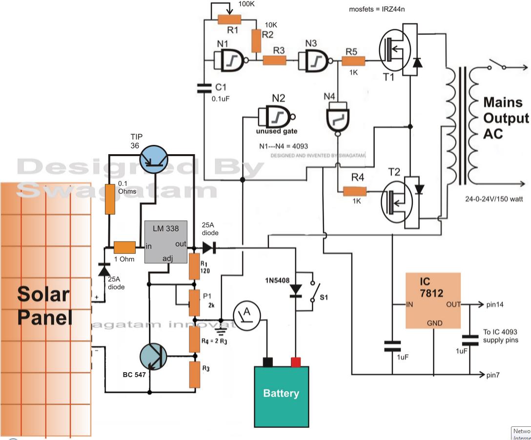 Peachy Inverter Circuit Diagram Additionally Dc Ac Inverter Circuit Diagram Wiring Cloud Dulfrecoveryedborg