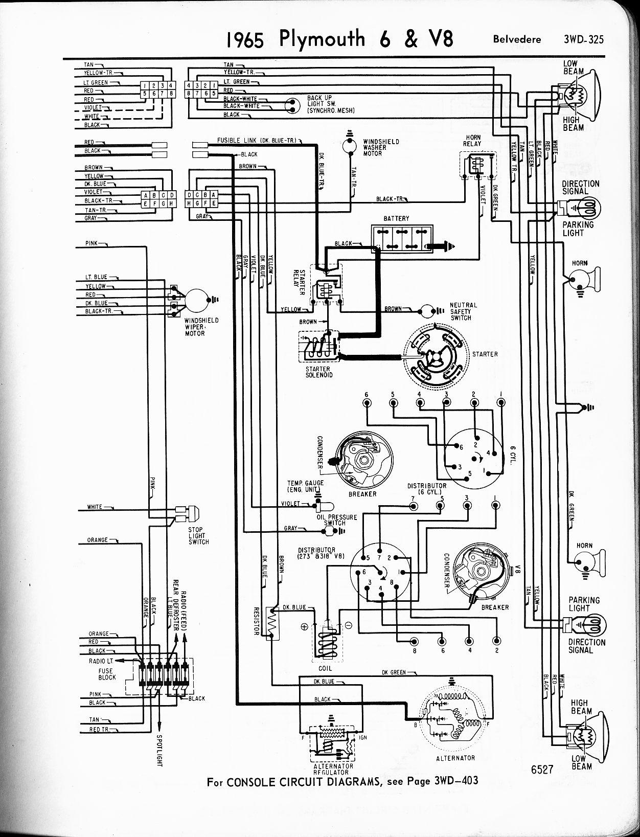 Dodge Alternator Wiring 1965 Emergency Shut Off Switch Wiring