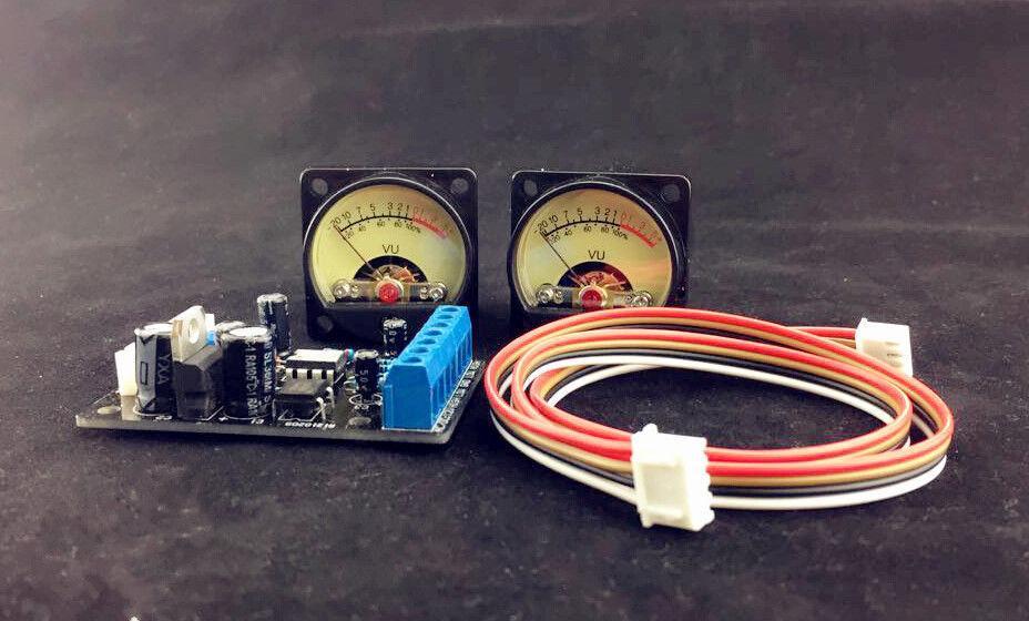Astonishing Audio Power Amplifier Panel Vu Meter Db Level Led Header Driver Wiring Cloud Rineaidewilluminateatxorg