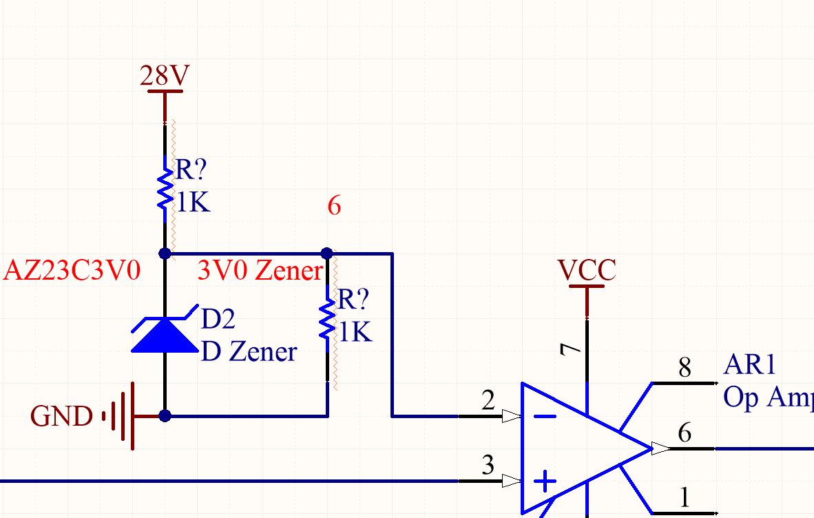 Excellent Zener Diode In Comparator Electrical Engineering Stack Exchange Wiring Cloud Waroletkolfr09Org