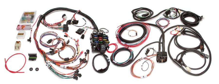 Incredible 21 Circuit Direct Fit Jeep Cj Harness Painless Performance Wiring Cloud Vieworaidewilluminateatxorg