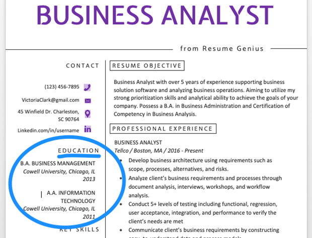 Terrific How To Write A Great Resume The Complete Guide Resume Genius Wiring Cloud Icalpermsplehendilmohammedshrineorg