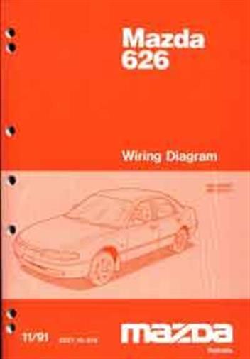 bx8179 mazda 626 1994 wiring diagram wiring diagram