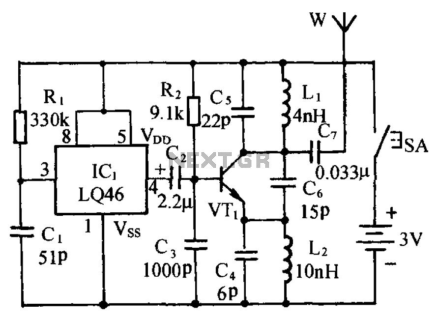 Miraculous Fm Transmitter Circuit Rf Circuits Next Gr Wiring Cloud Hemtegremohammedshrineorg