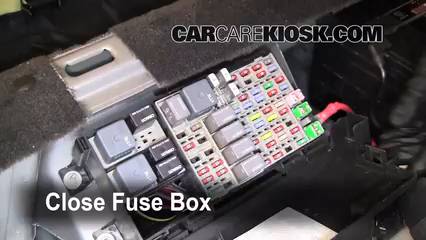 Superb Interior Fuse Box Location 2006 2011 Buick Lucerne 2006 Buick Wiring Cloud Onicaxeromohammedshrineorg