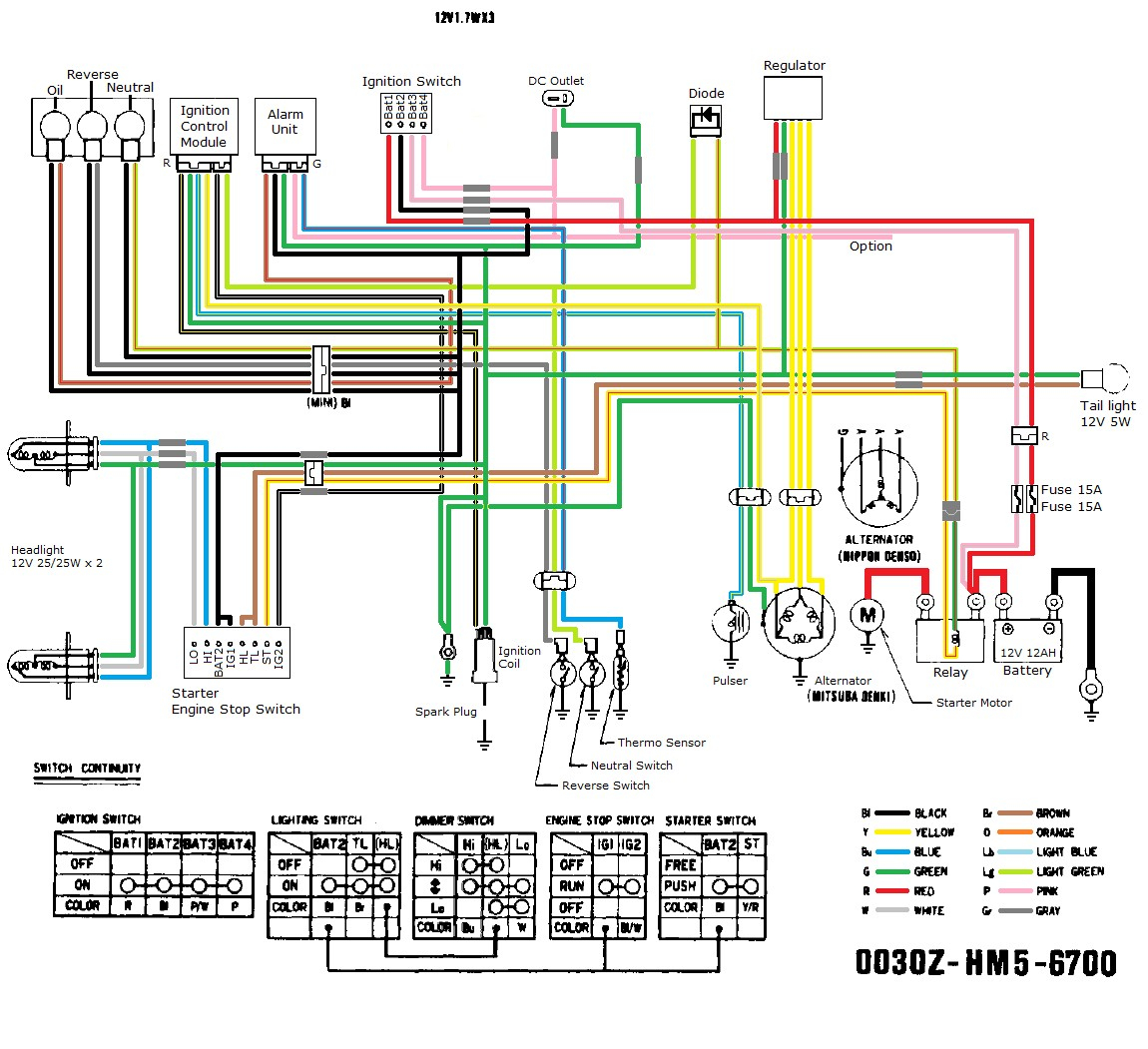 Wiring Diagram For Chinese Quad