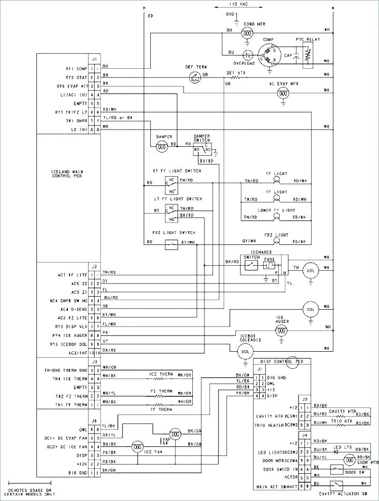 TM_7651] Wiring Information Diagram And Parts List For Amana  Refrigeratorparts Free DiagramOsoph Xtern Bemua Mohammedshrine Librar Wiring 101
