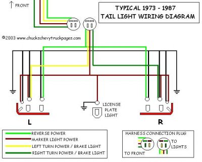 Pleasing Brake Lights Gm Square Body 1973 1987 Gm Truck Forum Wiring Cloud Filiciilluminateatxorg
