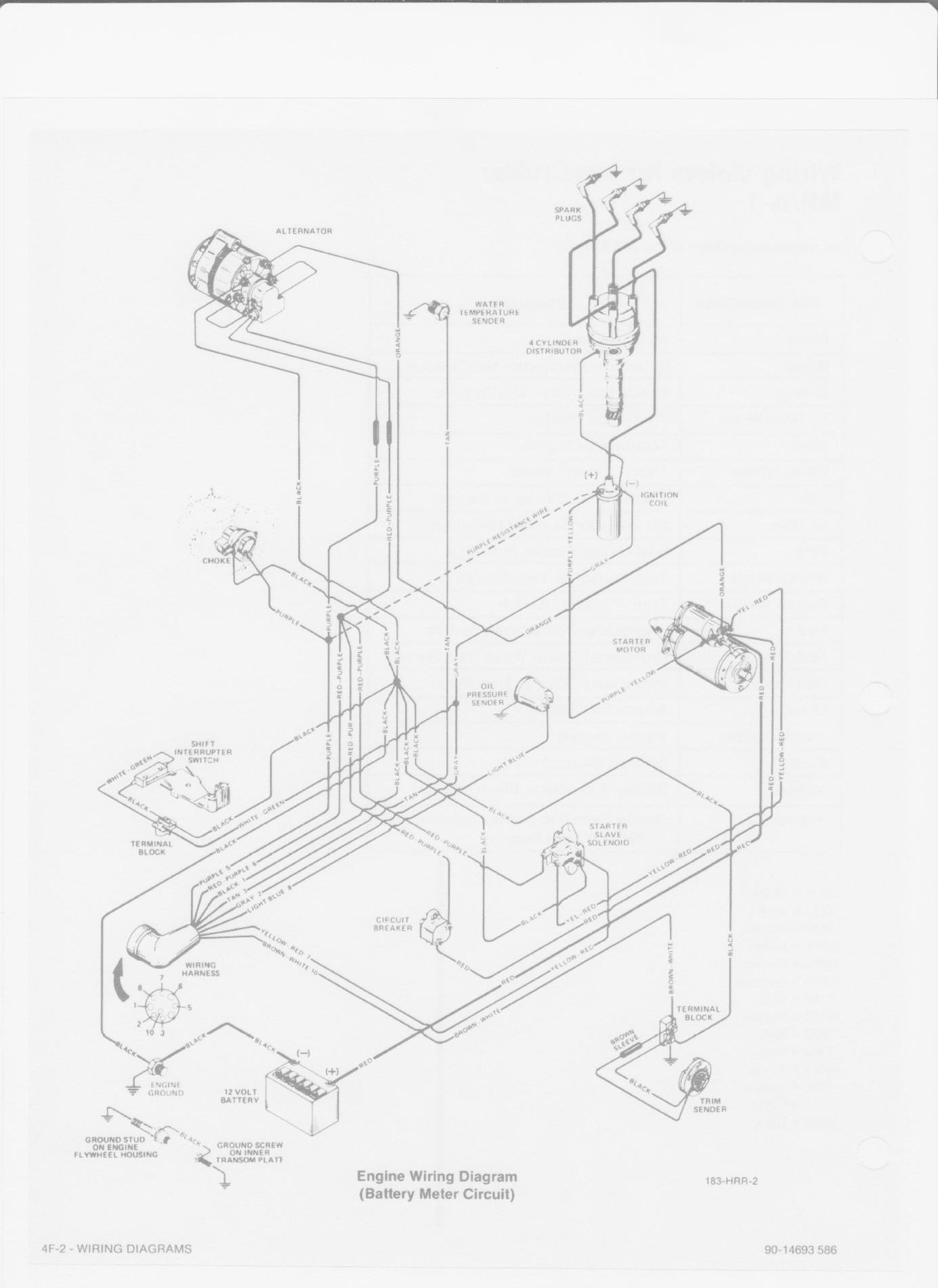 120 Hp Mercruiser Engine Diagram Wiring Diagrams Electrical Electrical Adriengirod Fr