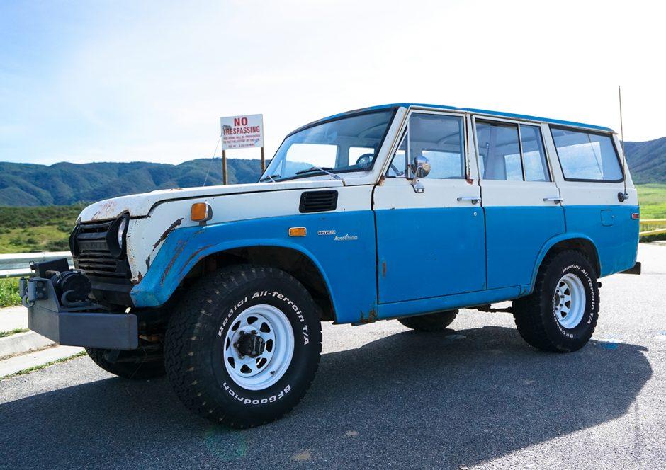 Stupendous No Reserve 1972 Toyota Land Cruiser Fj55 For Sale On Bat Auctions Wiring Cloud Licukshollocom
