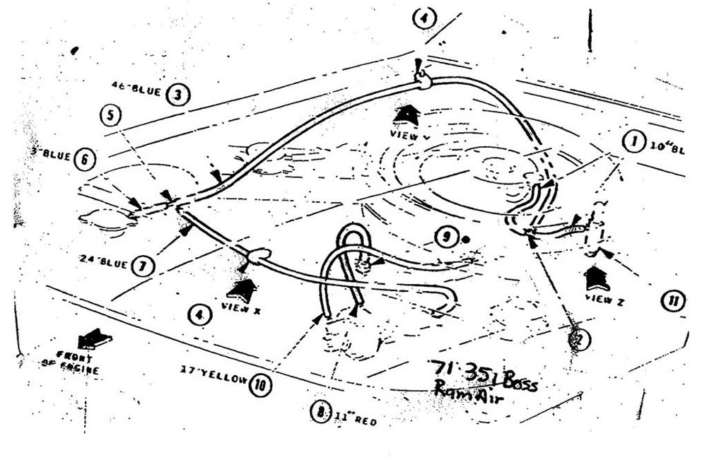 Eg 7431  1973 Ford Vacuum Hose Diagram Download Diagram