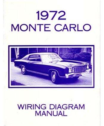 Super Amazon Com 1972 Chevrolet Monte Carlo Electrical Wiring Diagrams Wiring Cloud Lukepaidewilluminateatxorg