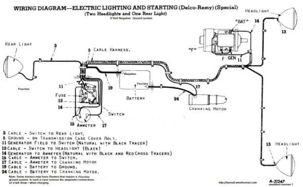 lb4585 light wiring diagram farmall h tractor download diagram