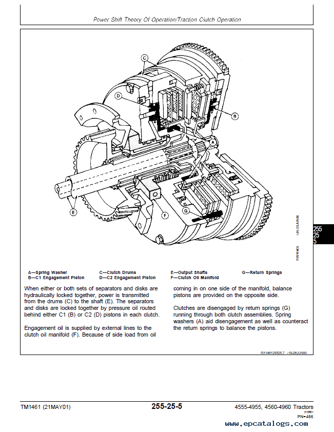 Gs 2231  John Deere 4960 Wiring Diagram Free Diagram