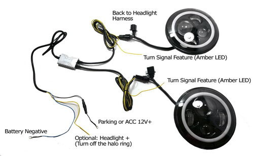 Terrific Led Halo Headlight Wiring Diagram Basic Electronics Wiring Diagram Wiring Cloud Hisonepsysticxongrecoveryedborg