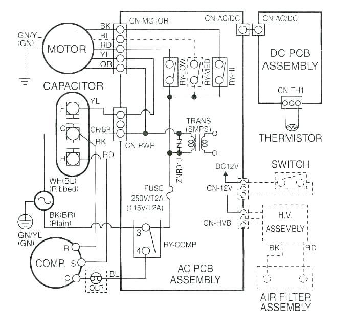 bryant condenser wiring diagram  crownline boat wiring