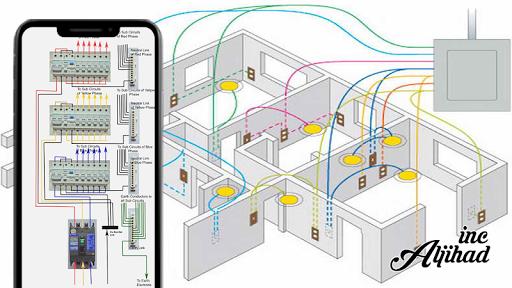 Lf 6783 Electrical House Wiring Diagram Free Diagram