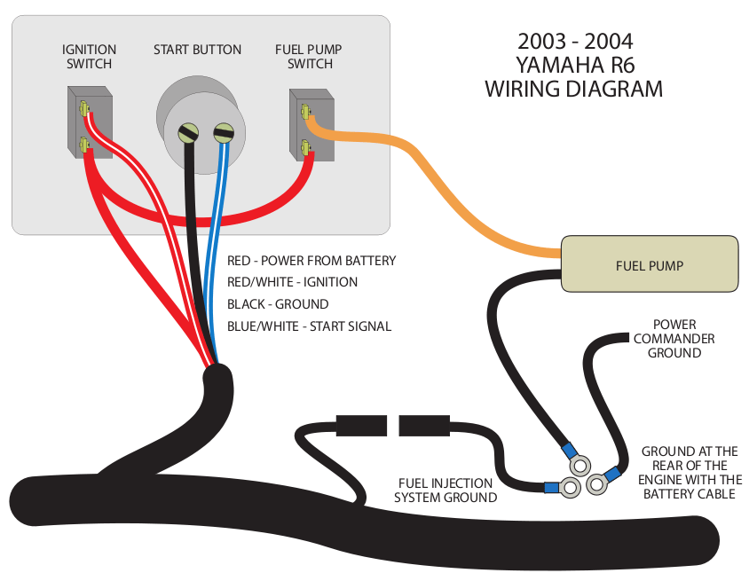 2005 Yamaha R6 Headlight Wiring Diagram