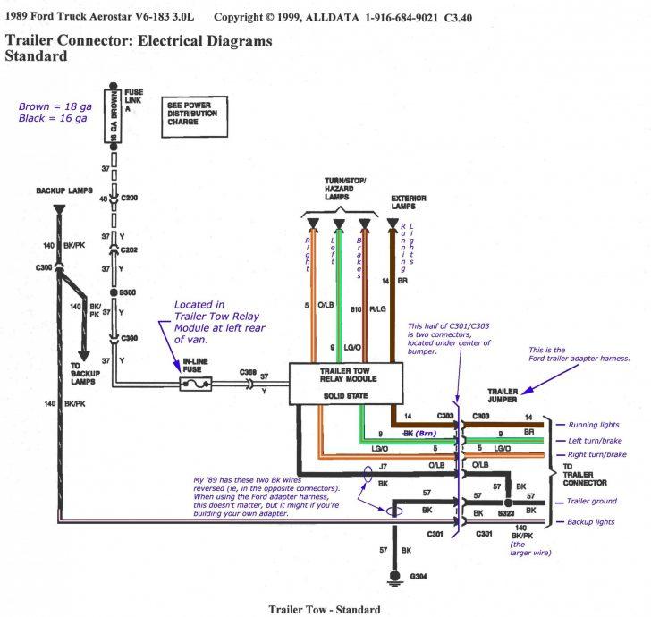 he9758 99 f350 trailer plug wiring diagram wiring diagram