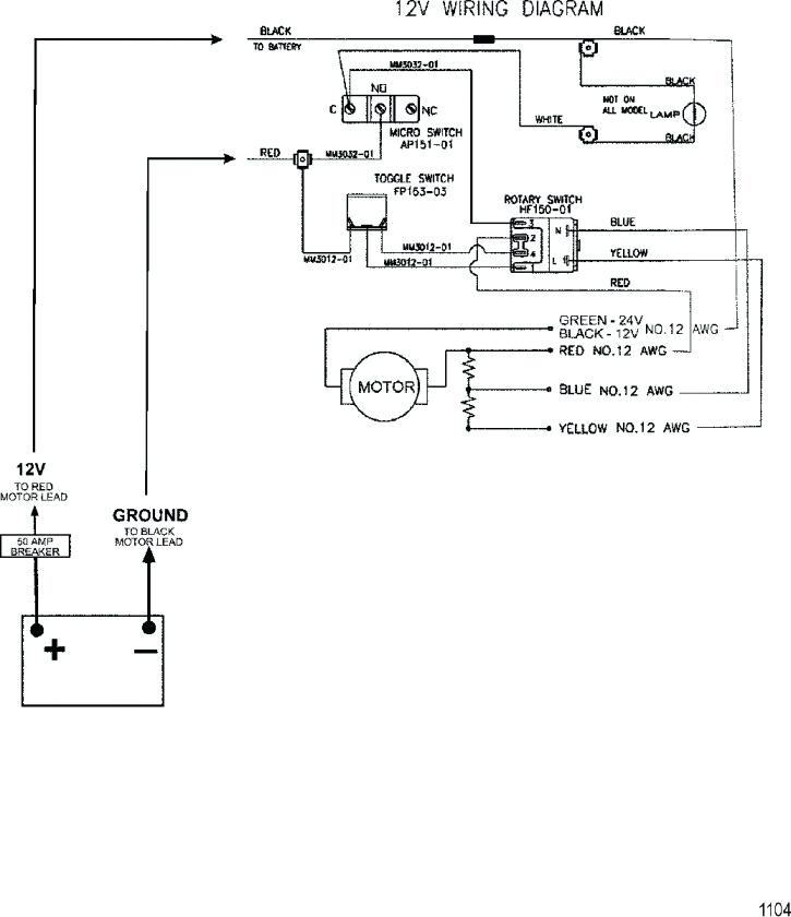 Wiring Diagram Minnkota Trolling Motor