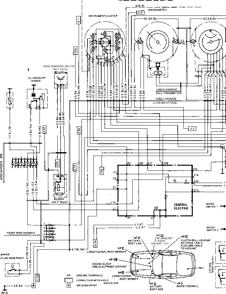 1981 Porsche 928 Wiring Diagram