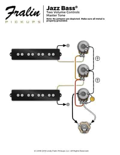 Vk 8813 Fender Standard Jazz Bass Wiring Diagram Free Diagram