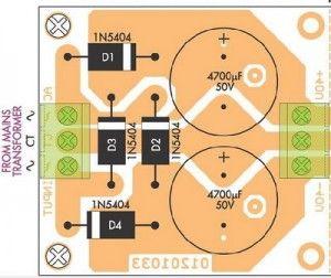 Brilliant 50W 70W Power Amplifier With 2N3055 Mj2955 Electronics Car Wiring Cloud Ymoonsalvmohammedshrineorg