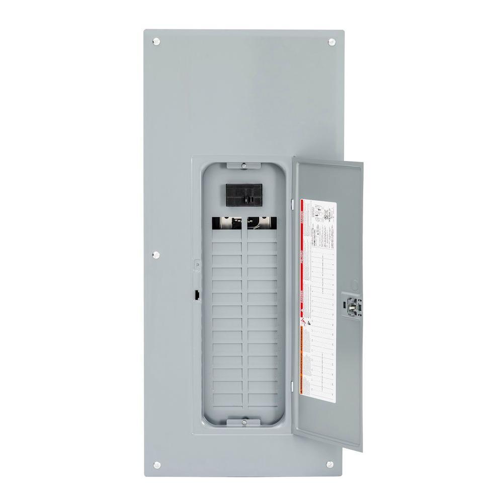 Awe Inspiring Square D Homeline 125 Amp 30 Space 60 Circuit Indoor Main Breaker Wiring Cloud Waroletkolfr09Org