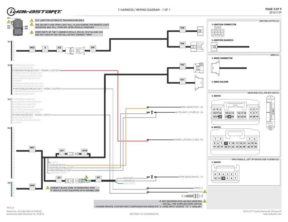 car alarm remote start installation wiring diagram cd