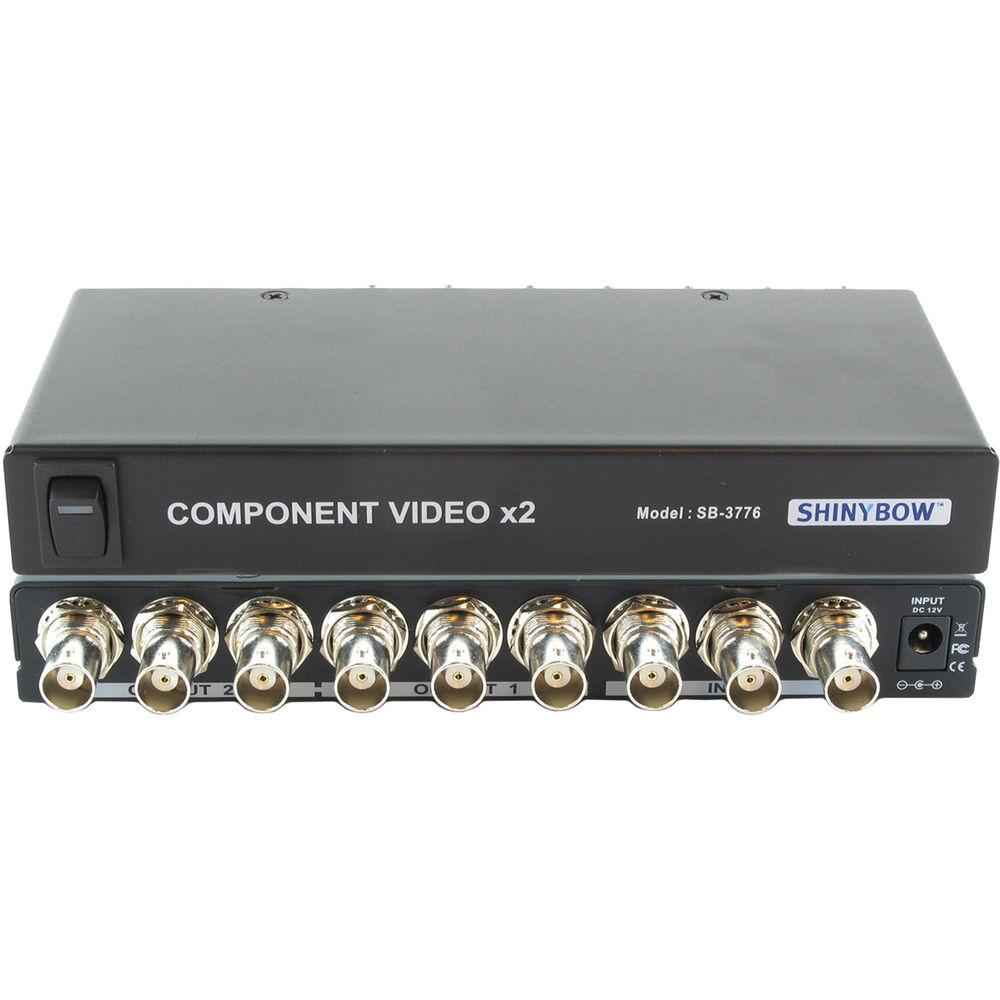 Amazing Shinybow 1 X 2 Component Video Distribution Amplifier Sb 3776Bnc Wiring Cloud Histehirlexornumapkesianilluminateatxorg