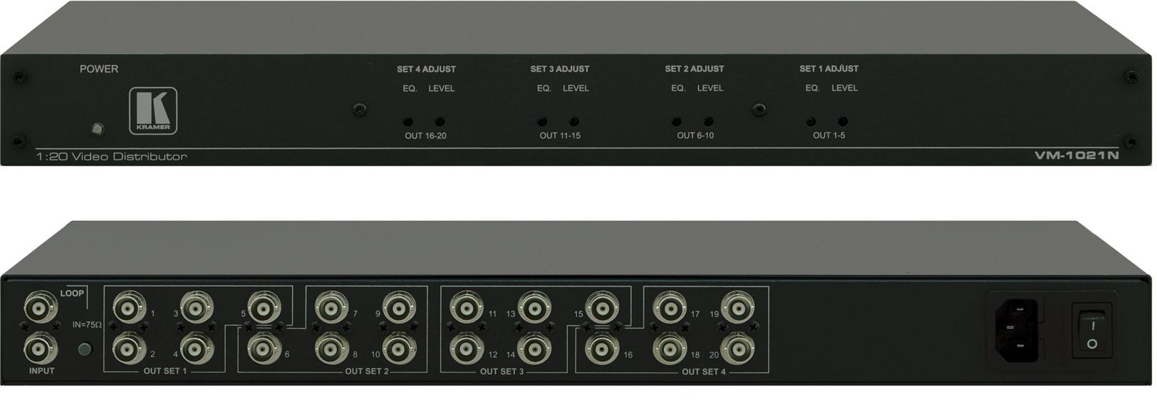 Astonishing Kramer Vm 1021N 1 20 Composite Sdi Video Distribution Amplifier Wiring Cloud Histehirlexornumapkesianilluminateatxorg