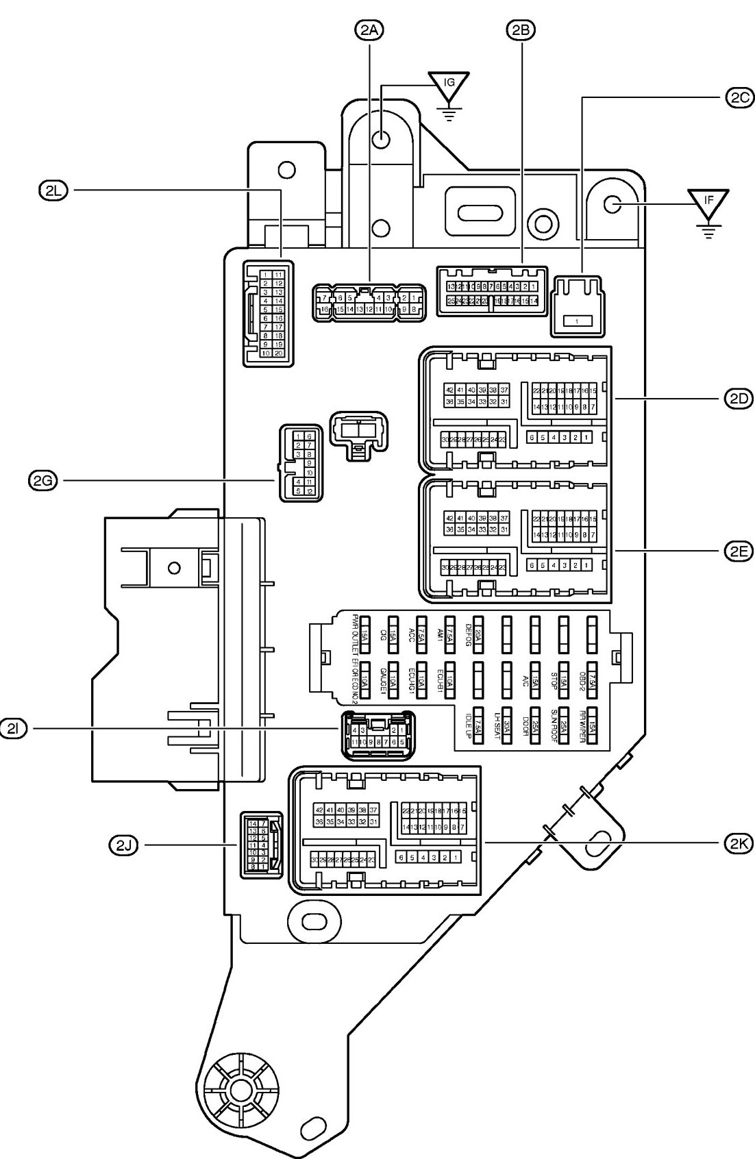 Toyota Land Cruiser 2005 Wiring Diagram