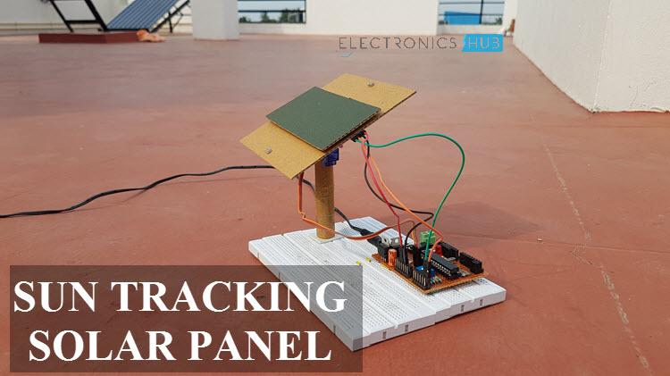 Surprising Sun Tracking Solar Panel Project Using Microcontroller Wiring Cloud Biosomenaidewilluminateatxorg