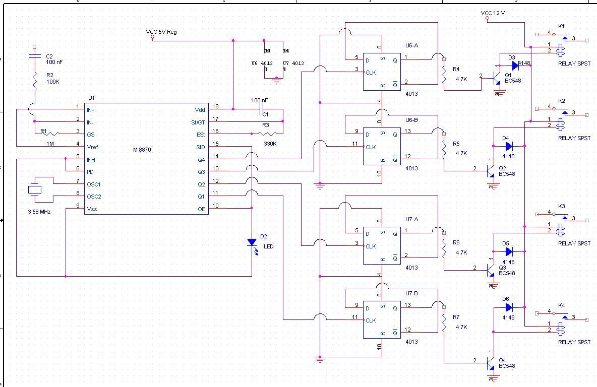 Strange Radio Remote Control Using Dtmf Wiring Cloud Ostrrenstrafr09Org