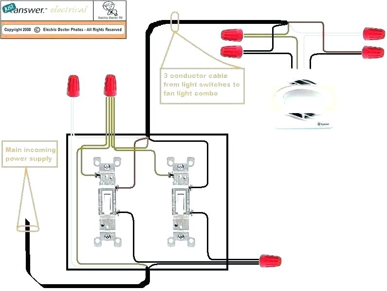 Bathroom Fan Light Combo Wiring | Bathroom Exhaust Fan Wiring Diagrams |  | louisnagel