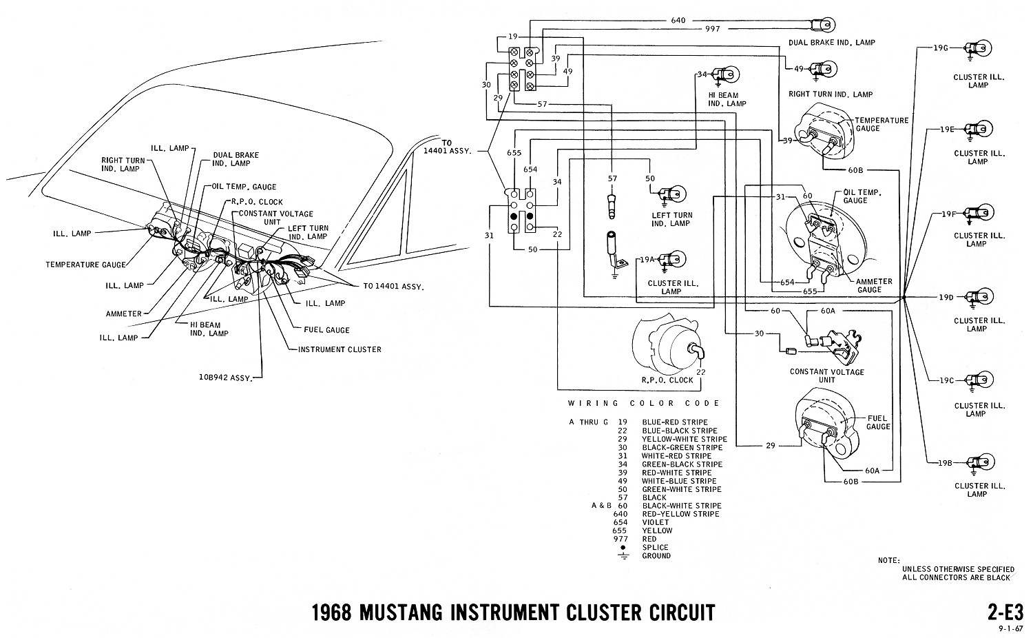 Pleasing 1968 Mustang Wiring Diagrams And Vacuum Schematics Average Joe Wiring Cloud Cranvenetmohammedshrineorg