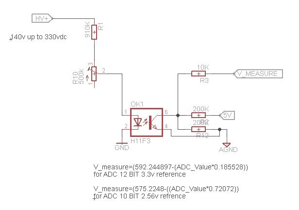 Groovy High Voltage Dc Measurement With Isolation Avr Freaks Wiring Cloud Cranvenetmohammedshrineorg