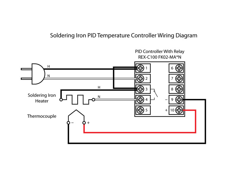 Admirable Pid Temperature Controller Wiring On Wiring A House By Rex Cauldwell Wiring Cloud Waroletkolfr09Org