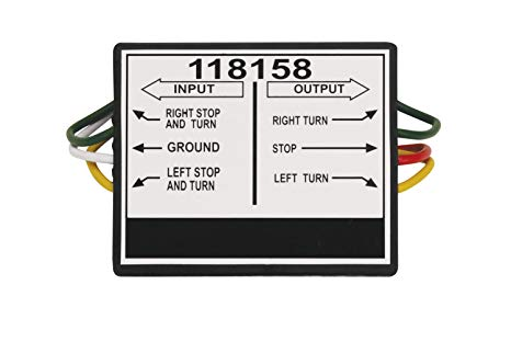 Superb Amazon Com Tekonsha 118158 2 To 3 Taillight Converter Automotive Wiring Cloud Intelaidewilluminateatxorg