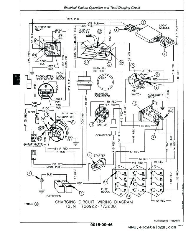John Deere 212 Wiring Schematic