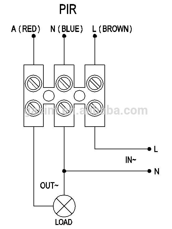 motion sensor wiring diagram wall  2000 dodge neon