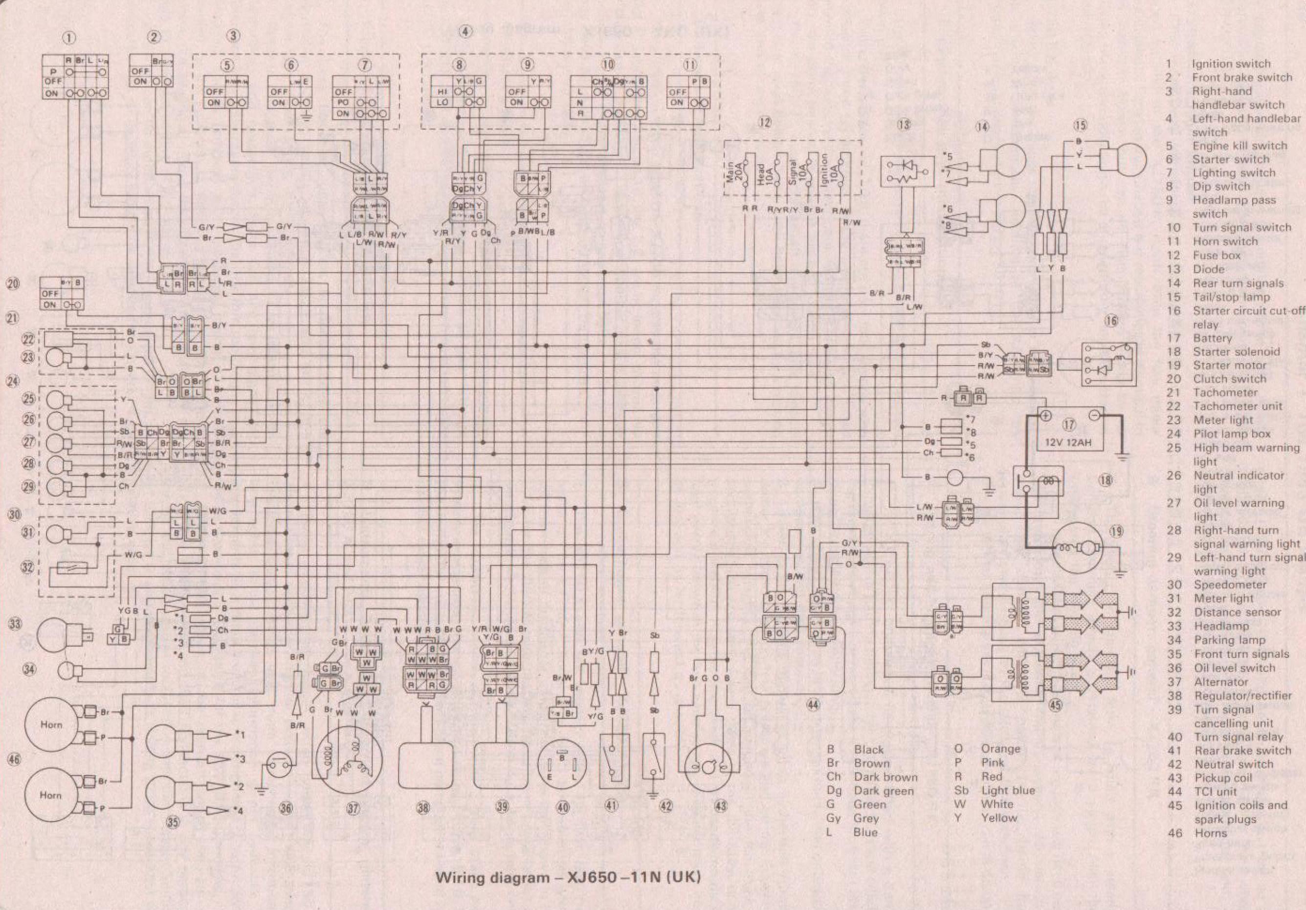 Yamaha Xj550 Maxim Wiring Diagram - Wiring Diagram