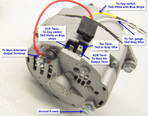 Mf 0884 3 Wire Plug Wiring Diagram Delco High Output Alternator Auto Free Diagram