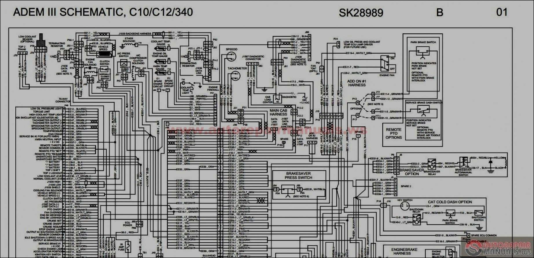 2004 Peterbilt 379 Wiring Diagram - 1978 Yamaha 650 Special Wiring Diagram  for Wiring Diagram SchematicsWiring Diagram Schematics