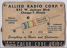 Incredible Electronic Color Code Wikipedia Wiring Cloud Dulfrecoveryedborg