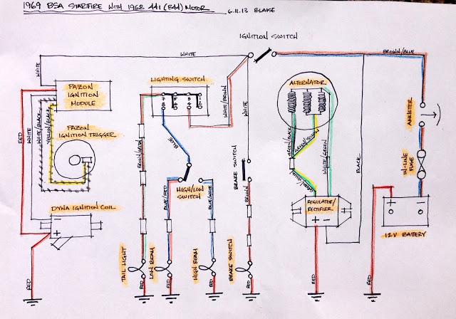WL_4110] Bsa 441 Wiring Diagram Free Diagram
