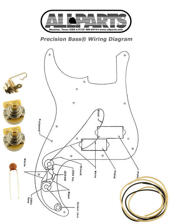 Fender Precision Bass Lyte Wiring Diagram