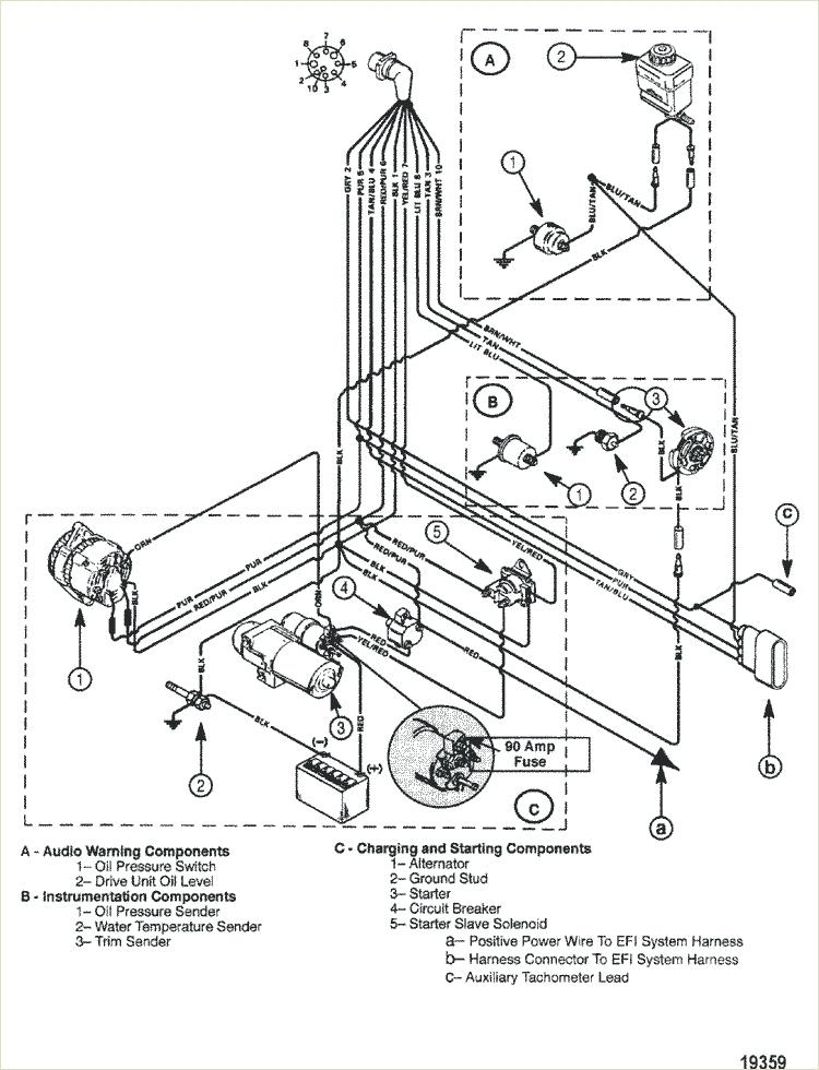 Aw 6033 Mercruiser Electrical System Wiring Diagrams Schematic Wiring